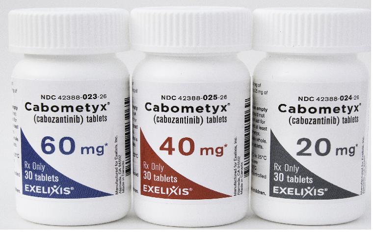 全能防癌凶手,卡博替尼和安罗替尼卡博替尼!减少了78%的病症进度或致死风险性