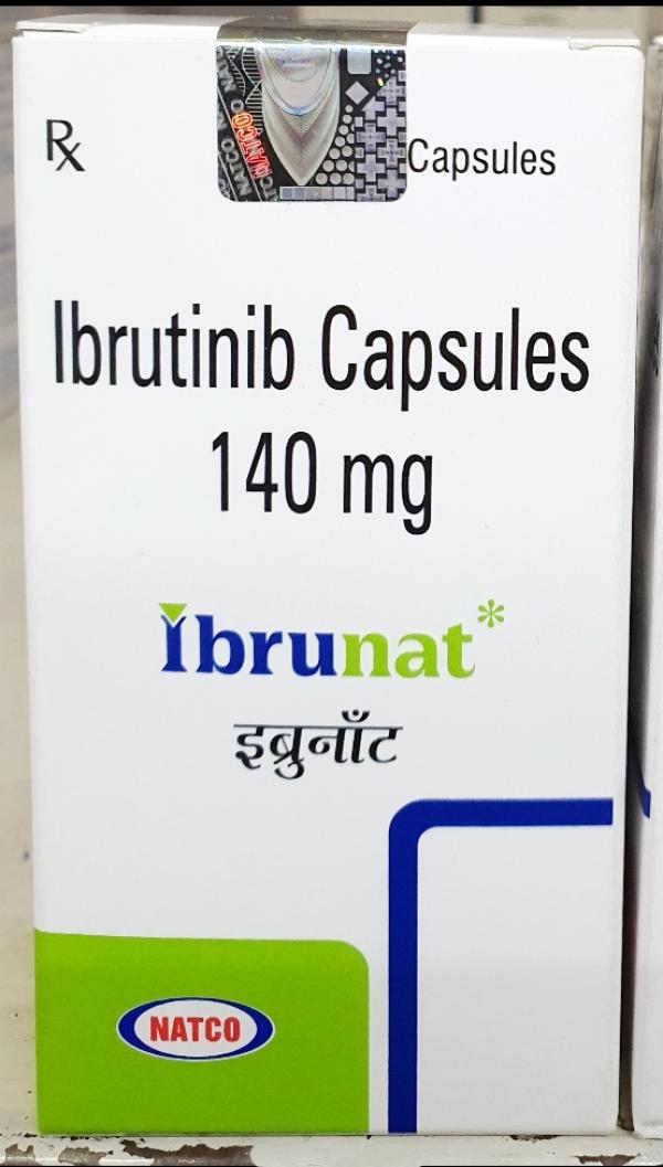 套細胞淋巴肿瘤   依鲁替尼(Ibrutinib)